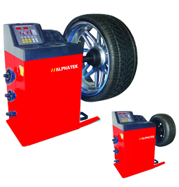car and commercial vehicle wheel balancers