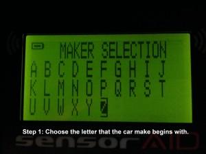 car tyre pressure reader